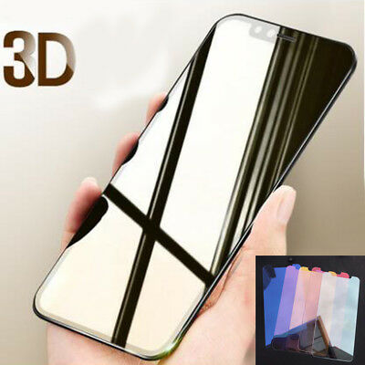 For iPhone 6 7 8 Plus X Temper Glass Film 3D Mirror Magic Color Screen Protector