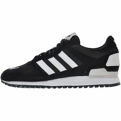 4af71580c ... where to buy adidas originals mens zx 700 classic retro trainers  fashion sneakers black b3847 7472f