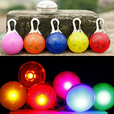 LED Fascinating Pet Dog Cat Puppy Flashing Collar Safety Night Light Pendant/CA