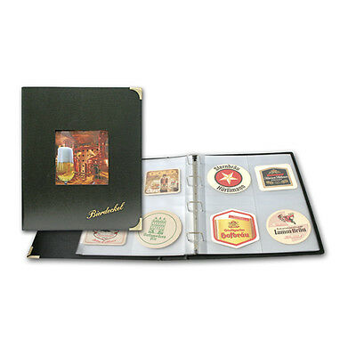 100 Additional Pages for the Album for Beer Coasters safe 495 NEW