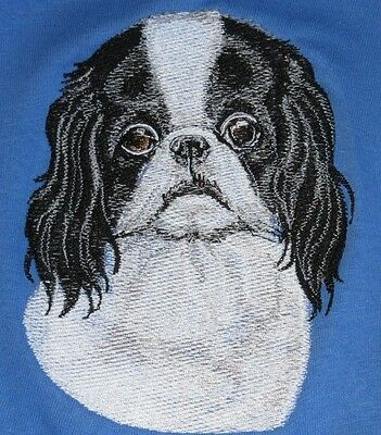 Embroidered Sweatshirt - Japanese Chin BT3586  Sizes S - XXL