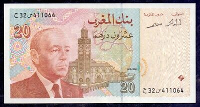 20 Dirhams From Morocco UNC A1