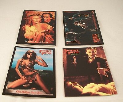 HAMMER HORROR Series 2  Promo Card Set - Series Two Chase Set