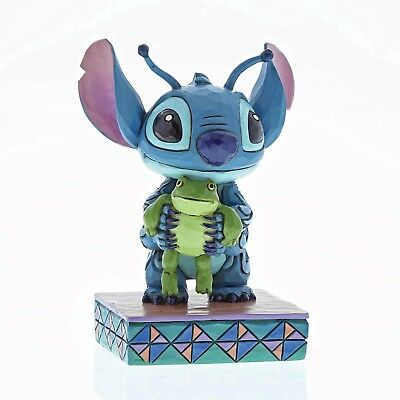 "Disney Traditions - Stitch with Frog Figure ""Strange Life-Forms"" - New for 2018"
