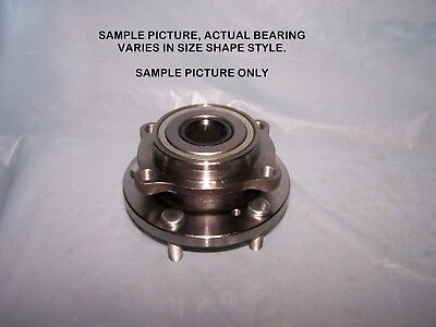 1 Rear Wheel Hub Bearingassembly Volkswagen R32 W/abs 2008
