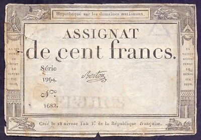 Assignat de Cent Francs 1964 A1