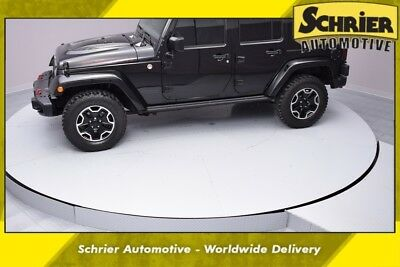 2015 Jeep Wrangler Unlimited Rubicon 2015 Jeep Wrangler Unlimited Rubicon 35,921 Miles Black Clearcoat 4D Sport Utili