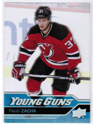 16/17 Ud Series 1 Pavel Zacha #248 Young Guns Rc Acetate New Jersey Devils