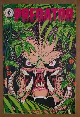 Predator #2 1989 Mark Verheiden Chris Warner Dark Horse Comics VF Free Shipping