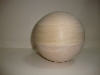 Tai Chi  Ball Unfinished Poplar  #14