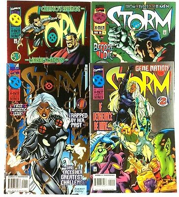 Storm 1-4 Complete Limited Series Marvel 1996 VF NM Cable Wolverine X-Men Title