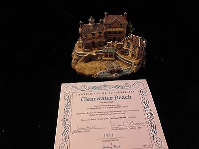 DANBURY MINT  Sculpture - Our Scenic Shores Collection CLEARWATER BEACH w Cert