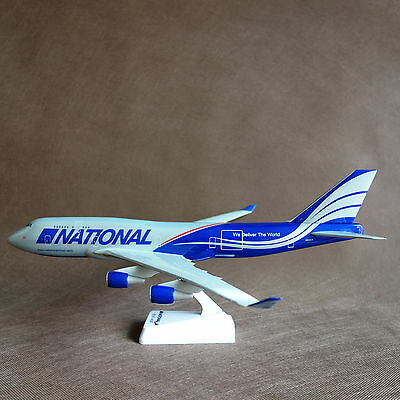 1/200 National Airlines Boeing B747-400F Cargo Airplane Solid Display Model