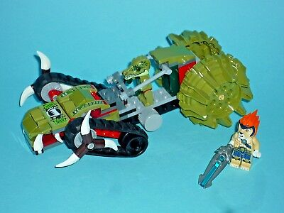Lego Legends Of Chima  Set 70001 Crawley's Claw Ripper  With Instructions