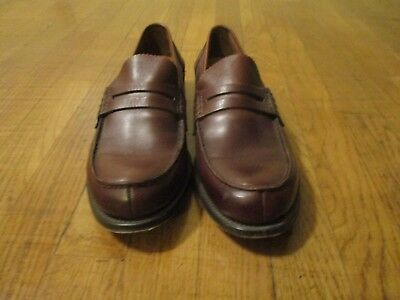 CHURCH'S BROWN PEMBREY loafers 85 F 8.5  9 US shoes England