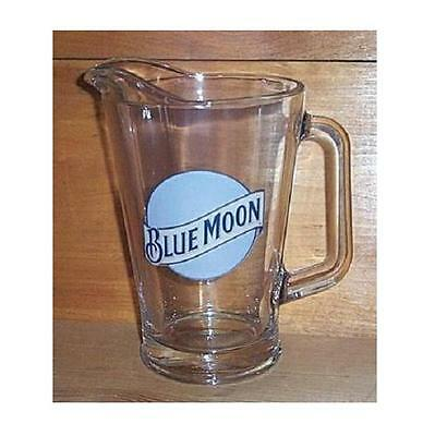 BLUE MOON WHITE ALE BAR BEER GLASS PITCHER 60 oz NEW