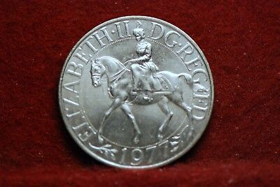 Great Britain, 1977 25 New Pence, KM920, Brilliant Uncirculated, NR       ...612