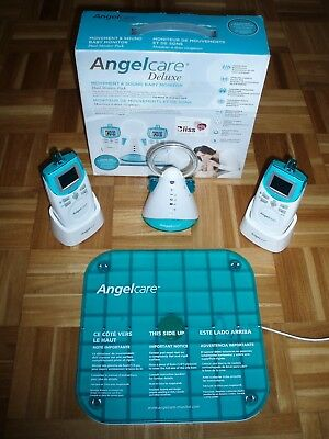 Angelcare Movement + Sound Baby Monitor With 2 Parent Units AC401 Deluxe