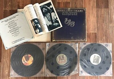 3 LPs Box Electric Light Orchestra - Special Edition - Three Light Years SAMMLER