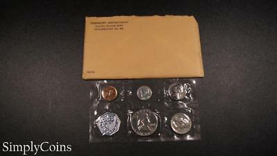 1960 Proof Set ~ Original Envelope With COA ~ US Mint Silver Coin Lot SKU-954