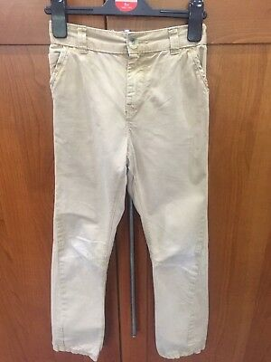 Boys beige jeans age 9-10 years
