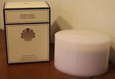ESTEE LAUDER WHITE LINEN Perfumed Body Powder 3.5 oz / 100 ml New In Box