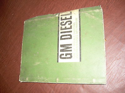 Gmc Detroit 110 53 71 Series Diesel Engine Tune Up Manual Truck Coach