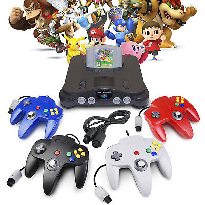 For Retro N64 Console Games Controllers Gamepad Joystick With Extension Cable