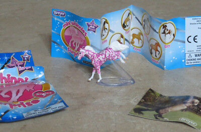 Breyer Strawberry Mini Whinnies Surprise Series 2 jumping horse dappled pink