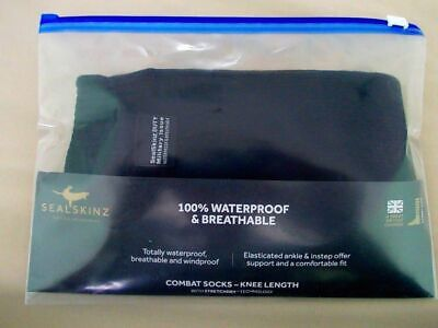 NEW - British Army Issue SEALSKINZ Waterproof Boot Liner Socks - UK Size MEDIUM