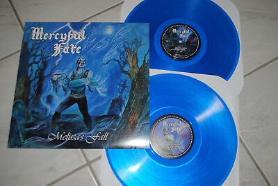 MERCYFUL FATE - Melissa´s Fall 2 x LP lim. 175 blue Vinyl King Diamond Venom