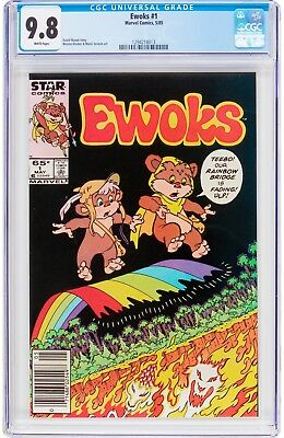 Ewoks #1 Marvel Comic 1985 - CGC 9.8 NM/MT White Pages - First Issue - Star Wars