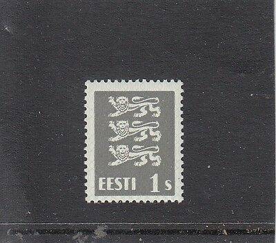 Estonia 1940,Definitive 1 senti on white chalkpaper FINE!,Mi.nr.164x,EUR 260,MNH