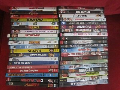 Lot of 40 DVD's Action Comedy Childrens Drama Lot