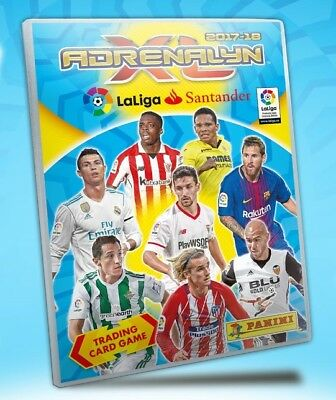 #442-462. Super Crack 2017/2018 - CARD Panini Adrenalyn XL Liga cromos