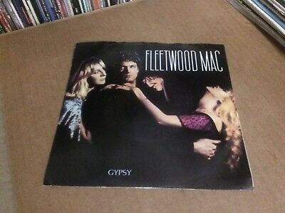 "Fleetwood Mac Gypsy Pic Sleeve And Vinyl 45 7"" Z"