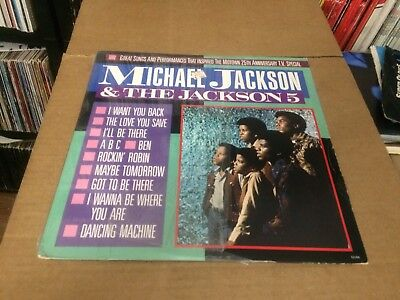 Michael Jackson And The Jackson 5 Great Songs Performances Motown 25 V 12