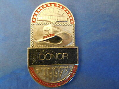 1997 HOUSTON LIVESTOCK SHOW and RODEO DONOR BADGE HLSR ASTRODOME ESTATE