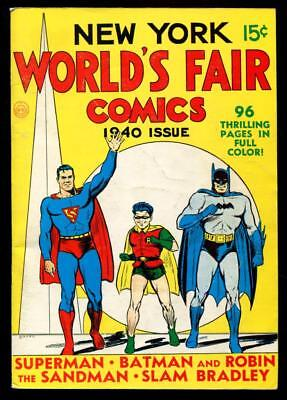 Golden Age Comic Reprint Edition NEW YORK WORLD'S FAIR COMICS 1940