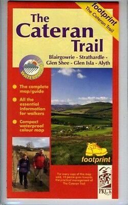 The Cateran Trail: Blairgowrie - Glenshee - Alyth (Footprint Map . 9781871149814