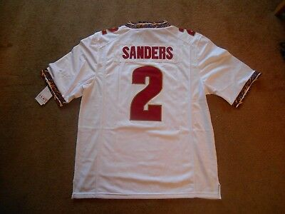e02639cc22d Deion Sanders #2 FSU Seminoles STITCH ACC College Football Jersey Men M  TAGS NEW