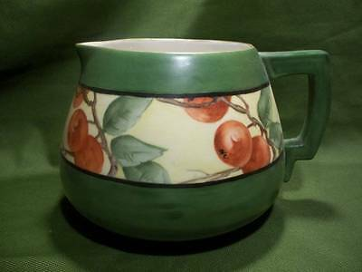 Vintage Beautiful Vienna Austria Pitcher ~❤️~ Hand Painted Red Apples
