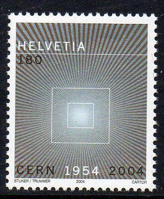 SWITZERLAND MNH 2004 SG1602 50th Anniversary of CERN