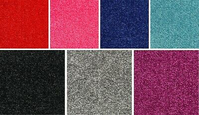 Coloured Sparkly Carpet Glitter Sparkle Soft Twist Pile Hessian Back Bedroom