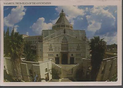 a vintage big size pc: nazareth- the church of annunciaation,  israel   90's A2