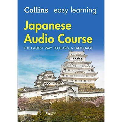 Easy Learning Japanese Audio Course: Language Learning  - Audio CD NEW Collins D