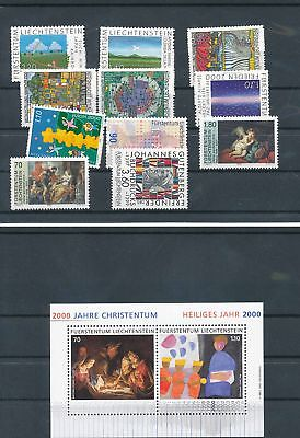13352/ Liechtenstein ** MNH Lot / Mixture mit Block