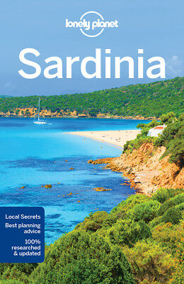 Lonely Planet Sardinia Travel Guide 2018 BRAND NEW 9781786572554