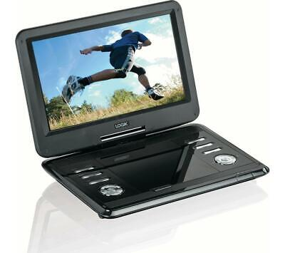 "Multi Region 11.6"" Inch Portable In Car DVD Player Rechargeable Swivel Screen"
