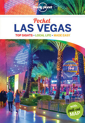 Lonely Planet Pocket Las Vegas Travel Guide 2018 BRAND NEW 9781786572462